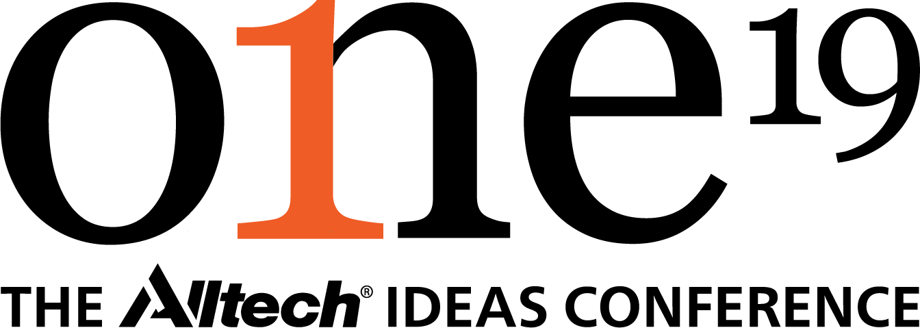 ONE: The Alltech Ideas Conference 2019